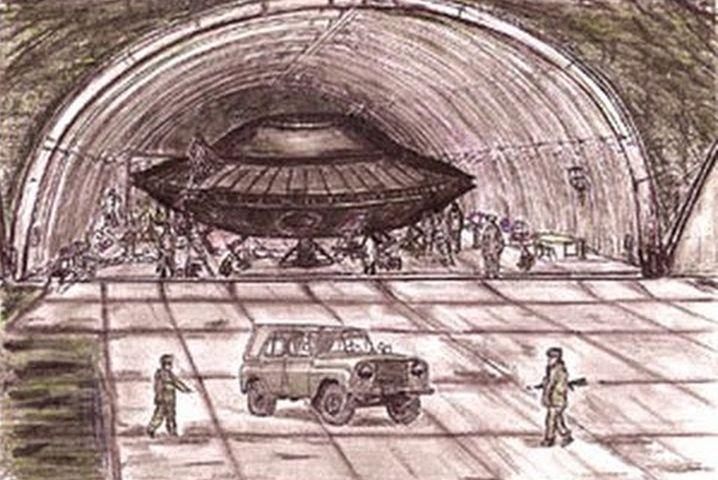 Извънземни са били заловени в ЮАР живи