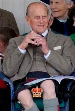Мъжът на британската кралица – принц Филип, показа на всички кралското си достойнство (фото)