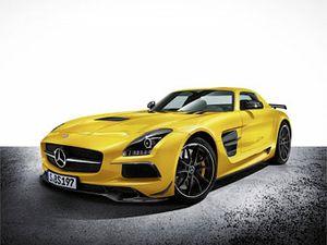 Mercedes-Benz представи  мощна  модификация на SLS AMG – Black Series