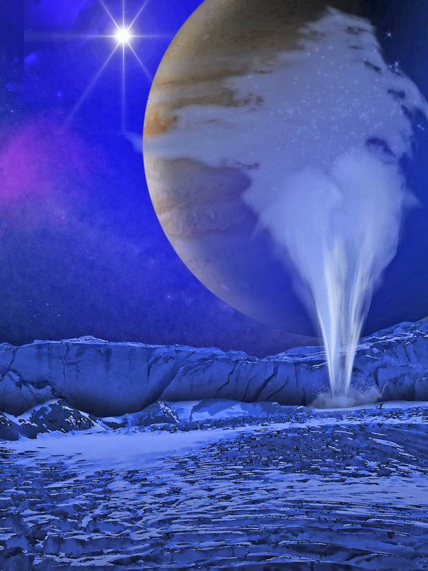 Europa-Jupiter