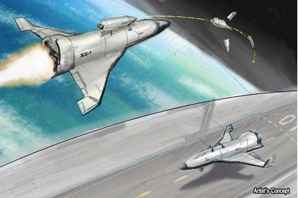 DARPA   разработва  безпилотна космическа совалка за многократна употреба