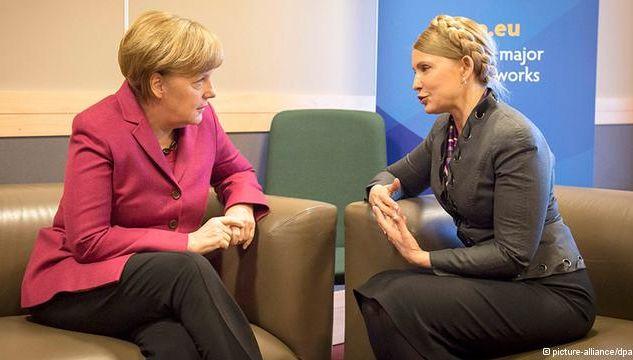 Меркел отряза Тимошенко за санкции срещу Русия