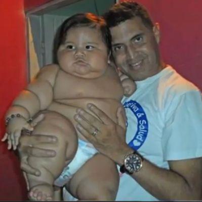 8-месечно бебе тежи  20 кг (видео)