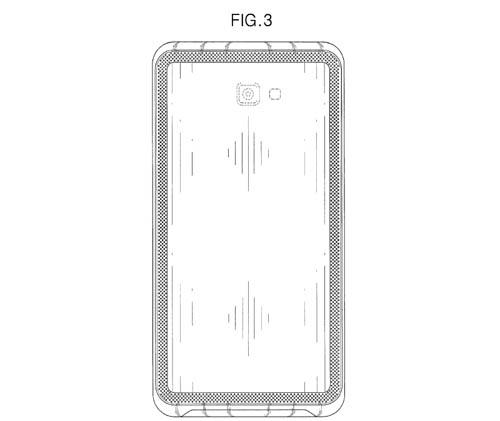 Samsung патентова телефон с дисплей 21:9