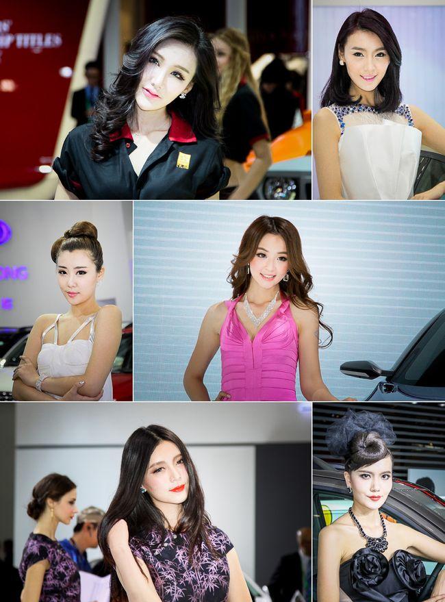 Най-красивите момичета на Пекинската автомобилна изложба