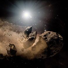 Рискът за гибел на Земята от астероид е десет пъти по-голям