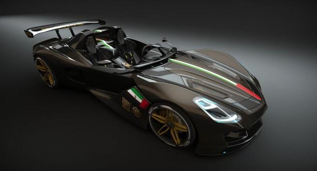 Мистериозен  автомобил от Дубай