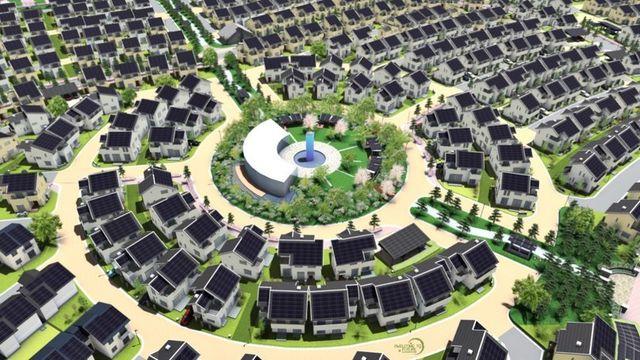 Panasonic изгражда напълно екологичен град