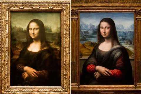 Леонардо да Винчи е  първият в света създател на 3D- изображение
