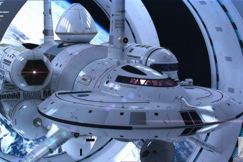 IXS Enterprise: концепция на научно-фантастичен кораб на НАСА
