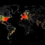 Как изглеждат на картата всички устройства, свързани към Интернет