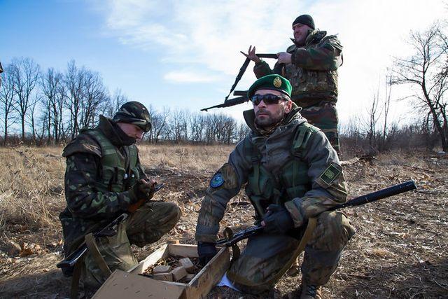 Ислямски  батальони с чеченци помагат на Украйна да воюва с въстаниците
