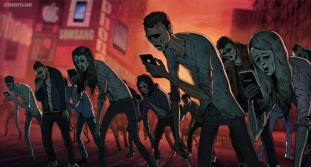 Илюстрации, които показват, че нашият свят полудява прогресивно