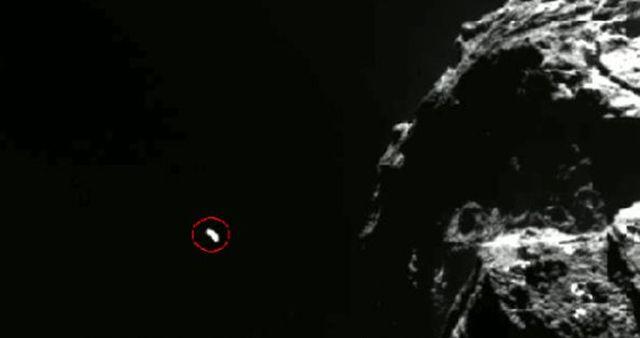 От  кометата Чурюмов – Герасименко излетя НЛО