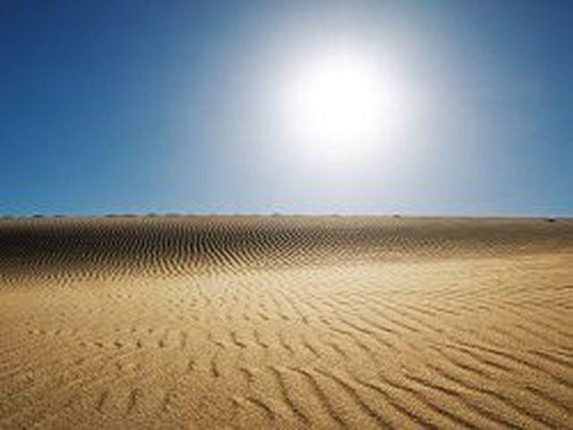 В китайска пустиня е открит огромен подземен океан