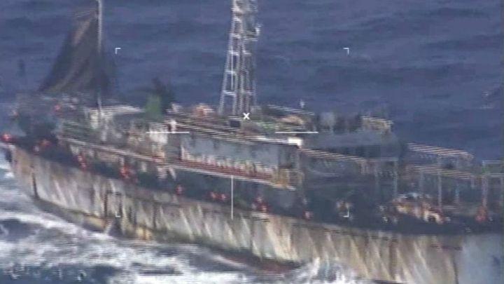 Аржентина потопи китайски кораб заради незаконен риболов