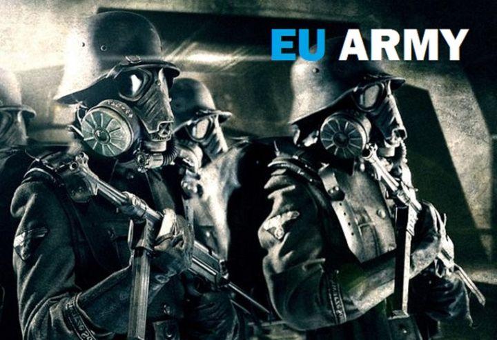Създаването на армия на ЕС под егидата на Германия е предвестник на предстояща война с Русия