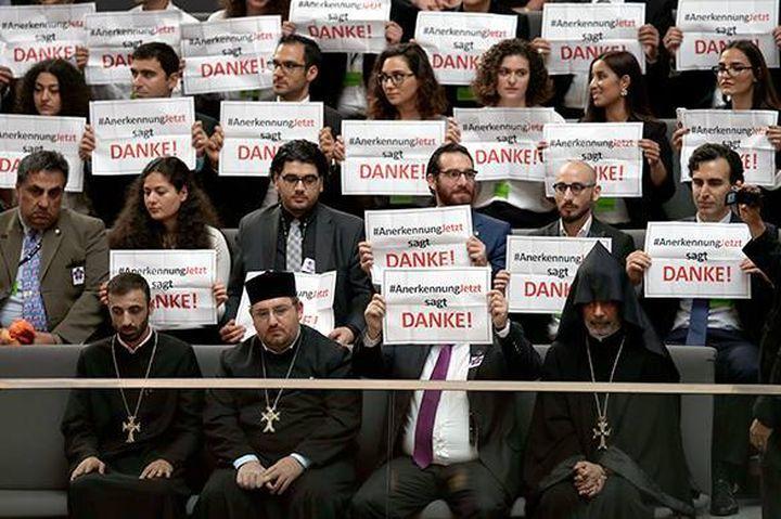 Германия одобри резолюция за турския геноцид срещу арменците