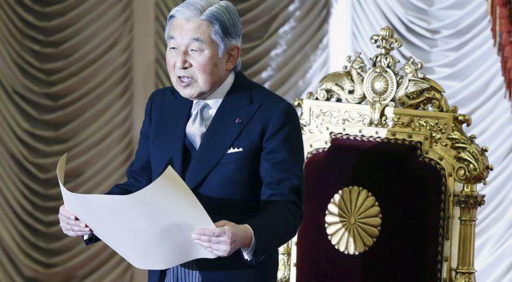Императорът на Япония  Акихито реши да абдикира