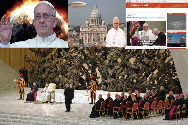 """Папа Франциск отмени  сензационното възвание, планирано за  8 януари,  """"за да не  предизвика паника"""""""