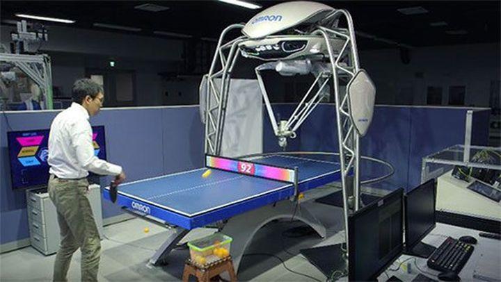 Робот, който умее да играе тенис на маса, е създаден в Япония (видео)
