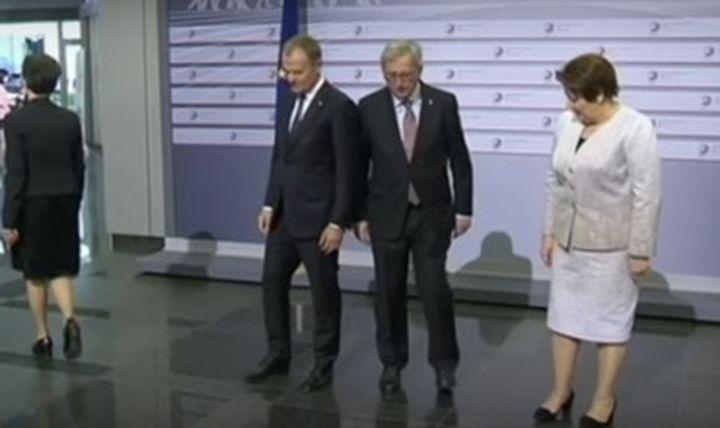 Ръководителят на Европейската комисия Юнкер се появи пиян на официална среща (видео)