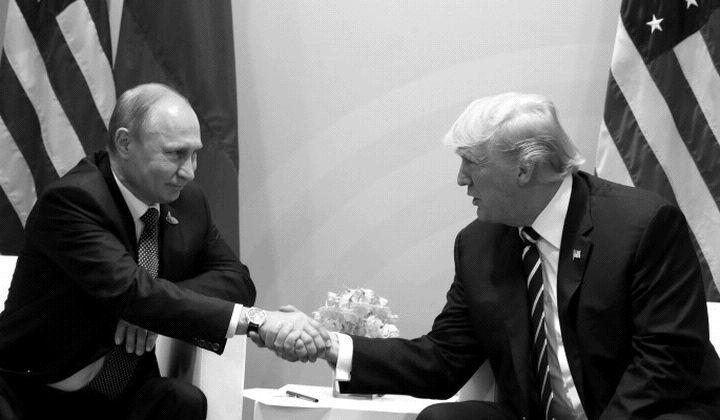 Тръмп+Путин