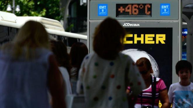 Горещината в Европа и мрачната прогноза на учените