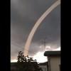 """Фантастична """"облачна змия"""" се появи в небето над Япония (видео)"""
