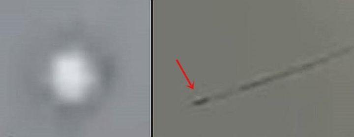 НЛО се скри в Тихия океан (видео)