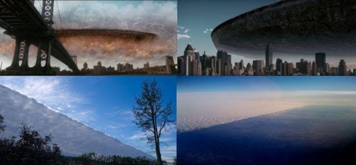 Огромен полупрозрачен обект в небето над САЩ озадачи американците (видео)