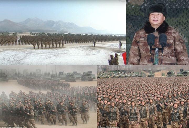 Безпрецедентно! Президентът на Китай Си Дзинпин заповяда на 4 000 военни подразделения да се подготвят за война! (видео)