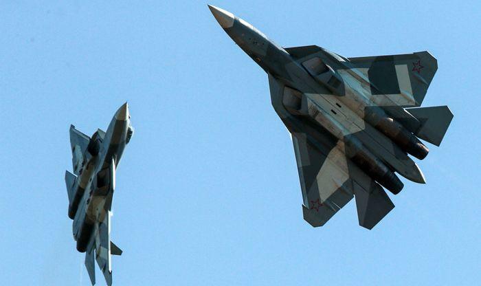 Горещо: Русия изпрати в Сирия два изтребителя от пето поколение Су-57