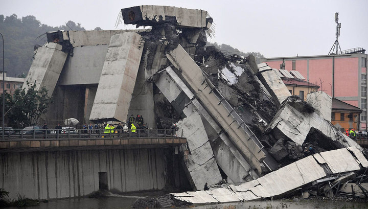 Обновено. Знаменията: Удар на мълния в Генуа срина мост – 35 са загиналите (видео)