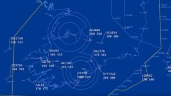 Документирано: Пилоти наблюдаваха НЛО над Ирландия и докладваха на диспечера (видео)