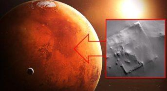 Руините на огромна сграда на Марс са заснети от сондата MGS